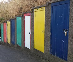 Photo of Colourful door's.