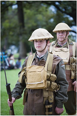 Dressed for battle (Jerome Cornick) Tags: soldier army uniform australia perth nurse ww1 kingspark sunsetservice fromelles