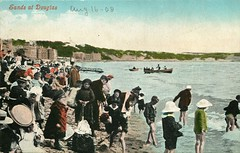 Beside the sea (mgjefferies) Tags: holiday beach stacey postcard isleofman 1908