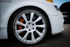 Audi A5 (Matteo Scardino) Tags: auto white car wheel low brake bianca audi rims tuning a5 bianco macchina cerchio bassa tuned pinza freno cerchione audia elaborare elaborata zingonia mercatoneuno preparata