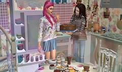 Happy Birthday  Skelita69  (Linayum) Tags: birthday game virtual sims2 juego sim sims thesims2 simmer virtuallife ts2 mysims lossims2 linayum ts2pictures