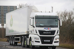 MAN Moran DK14 KYT (SR Photos Torksey) Tags: road man truck transport lorry commercial vehicle moran freight logistics haulage hgv lgv