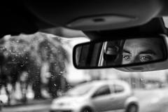 On the road... | En la carretera... (maf.mendoza) Tags: road blackandwhite bw eye blancoynegro ojo mirror eyes nikon camino carretera path bn ojos coche espejo rearview coches retrovisor drivingmirror nikond7200 nikkorafsdx1680mmf284eedvr