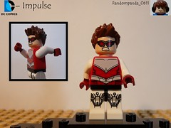 Impulse (Random_Panda) Tags: comics book dc comic lego fig character books super hero figure superhero characters heroes minifig minifigs superheroes figures figs minifigure minifigures