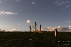 DSC_6602_Lr-edit (Alex-de-Haas) Tags: light sunset reflection netherlands clouds fence landscape fire licht zonsondergang nederland thenetherlands wolken dyke dijk dike landschap noordholland hek vuur reflectie petten coastalarea spreeuwendijk kunstgebied