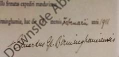 Certificate Signature.