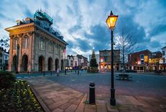 Abingdon Town Square (John Willoughby) Tags: christmas street england tree lamp square unitedkingdom oxfordshire abingdon countyhall abingdononthames