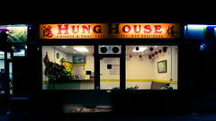 21. Hung House (dexter_yo) Tags: light building shop architecture night photography chinese fujifilm takeaway oriental splittone dinaspowys xt10 shootersclub lurkmore project365pod2016