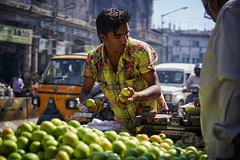 Hyderabad, The fruits seller #sony #sonyimages (faz452) Tags: world travel india sony hyderabad sonyimages