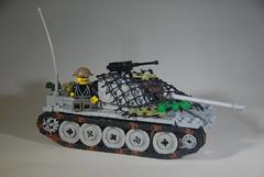 T-55: Jungle (LoganLego) Tags: tank lego vietnam nva vietcong t55 brickarms legovietnam legot55 citizenbrick