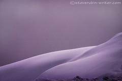 Sensual Snow (steve rubin-writer) Tags: sensual snow sex woman ski mountain curve sensuous cornice dof depth field