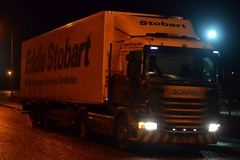Stobart L7520 PK60 HSY Lianne Faye at Sherburn 22/12/15 (CraigPatrick24) Tags: road truck fridge cab transport lorry delivery vehicle trailer scania logistics sherburn sherburninelmet stobart eddiestobart stobartgroup scaniag400 liannefaye l7520 pk60hsy stobartfridge