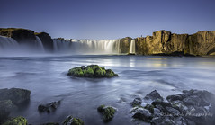 God's Waterfall (Snia CM) Tags: longexposure naturaleza nature water canon landscape waterfall iceland rocks waterscape 6d largaexposicion canon6d llargaexposicio