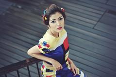 Full Colours (Dudy | 2112 photography) Tags: girls portrait people girl beautiful beauty face fashion 50mm model nikon mood sigma potrait d300