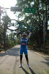 119 Betty  (nk@flickr) Tags: cycling friend taiwan betty  miaoli    sanyi canonefm22mmf2stm 20160109