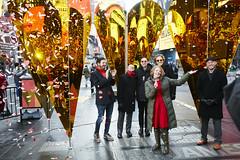 2016 Times Square Valentine Heart 'Heart of Hearts' Unveiling (Times Square NYC) Tags: timessquare heartofhearts duffysquare centerforarchitecture valentineheart aiany michaelkubo jonlott timessquarearts williamobrienjr tsqarts collectivelok