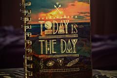 "40/365 ""Hoy es el da"" (Lau Armoa) Tags: art project notebook photography book is nikon day libro dia hoy 365 1855mm today libreta febrero texto proyecto the d5200"