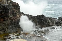 Mini blowhole (seanexmachina) Tags: hawaii maui nakaleleblowhole