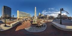 Vance Memorial, Asheville, NC (orebrandonm) Tags: park panorama unitedstates asheville parks northcarolina sphericalpanorama ptgui 360degreepanorama vancemonument vancememorial 360x180degreepanorama