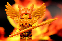 Gold Warrior: True Gold Fears No Fire (Lesgo LEGO Foto!) Tags: cute love fun toy toys fire gold golden flying lego warrior minifig collectible minifigs omg collectable minifigure minifigures goldenwarrior goldwarrior legophotography flyingwarrior legography collectibleminifigures collectableminifigure coolminifig