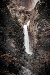 Nature's Fall (Rohit KC Photography) Tags: park nature water canon waterfall natural hiking edited trail national yosemite canon24105mmf4l canon5dmarkii