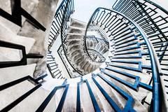 Round And Round And Round We Go (Sean Batten) Tags: city england urban london architecture stairs spiral nikon unitedkingdom steps gb railings bethnalgreen d800 1424 georgelovelesshouse