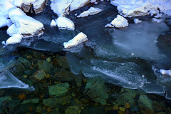 Icy Waters (steve_whitmarsh) Tags: winter snow ice scotland frozen aberdeenshire braemar scottishhighlands