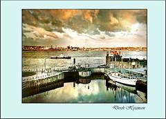 MERSEY VIEW. (Derek Hyamson) Tags: 6x6 film waterfront 120film negative mersey albertdock zeissiconnettar