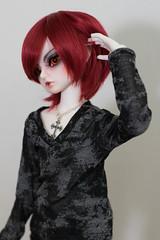 Rin (Crimson-Butterfly) Tags: ball kid doll elf bjd luts delf jointed maska lutsdoll