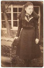 Girl Near Window (pepandtim) Tags: old window girl early postcard nostalgia letter nostalgic coventry 1906 avenue edwards malmesbury earlsdon styvechale kerguen 06011906 37gnw34