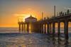 Manhattan Beach Pier -46  _ (Katbor) Tags: sunset manhattanbeach manhattanpier
