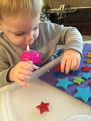 """Paul Plays with Star Stickers • <a style=""""font-size:0.8em;"""" href=""""http://www.flickr.com/photos/109120354@N07/24824953135/"""" target=""""_blank"""">View on Flickr</a>"""