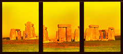 Stonehenge (pho-Tony) Tags: slr japan pen japanese prime xpro fuji crossprocess shift olympus velvia crossprocessing frame stonehenge half ft autos halfframe f18 50 expired olympuspen hue e6 zuiko 18x24 118 fujivelvia 38mm englishheritage c41 olympuspenft colourshift fzuiko olympuspenf tetenal 18x24mm f38mm