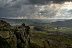 Hasty Ramble (ste-thomp25) Tags: lighting morning light sky clouds rocks north formation moors northeast northyorkshire