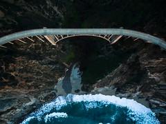 Bixby Creek Bridge - Overhead (brerwolfe) Tags: ocean california bridge sunset cliff coast monterey bigsur landmark aerial pch pacificocean coastline inspire westcoast bixbybridge pacificcoasthighway bixbycreekbridge cliffside dji quadcopter iconicbridges djiinspire