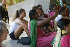 audience_2149 (Manohar_Auroville) Tags: girls dance women luigi tamilnadu auroville kolam fedele manohar tamilgirl tamilbeauty