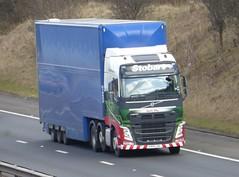 H4105 - KX14 LXG (Cammies Transport Photography) Tags: truck volvo may sadie tesco lorry m8 eddie fh supermarkets flyover livingston deans esl lxg stobart eddiestobart kx14lxg kx14 h4105
