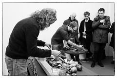 Yoaf (Tim Yates & Tom Fox) @ Strange Umbrellas, Chalton Gallery, London, 27th February 2016 (fabiolug) Tags: leica blackandwhite bw music london monochrome 35mm blackwhite concert gallery live duo gig livemusic performance rangefinder summicron improvisation improv monochrom tomfox euston biancoenero chaltonstreet leica35mm leicam 35mmsummicronasph leicasummicron chaltonst summicron35mmf2asph 35mmf2summicronasph summicronm35mmf2asph yoaf timyates mmonochrom leicammonochrom leicamonochrom strangeumbrellas chaltongallery