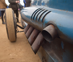 DSC_0449 (Vintage Highlands) Tags: car bluebird ainsdale motorracing exhaust 1927 landspeedrecord malcolmcampbell southportfestivalofspeed campbellnapier
