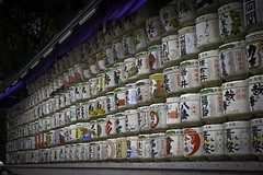 Sake Barrels (Connor_96) Tags: history japan tokyo nikon shine barrels historic sake 28 colourful tamron meiji d610 2875