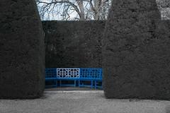 blue (docdave71) Tags: house black yellow garden landscape withe chestnuts oaks cedars ascott tranquillity