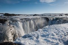 Hrafnabjargafoss (swissgoldeneagle) Tags: schnee winter snow island is waterfall iceland wasserfall d750 norurlandeystra hrafnabjargafoss