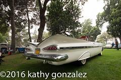 azealia1-5489 (tweaked.pixels) Tags: white chevrolet impala 1959 southgate azealiafestival tweedymilegolfcourse