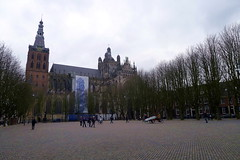 s'hertogenbosch (valeriadalua) Tags: netherlands jeroen 500 bosch shertogenbosch stjohnschurch jheronimus