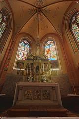 Altar Marienkapelle Rheinbllen (doerrebachtaler) Tags: hdr hunsrck stiftung rheinbllen marienkapelle puricelli puricellistift