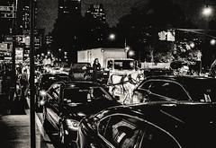 Med hst och krra p Manhattan (Bildbrus.se Jesper Prytz) Tags: newyork manhattan bil hst kvll krra