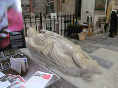 Pershore Abbey, Worcs (pefkosmad) Tags: uk england sculpture church abbey worship interior medieval inside worcestershire anglican furnishings effigy placeofworship churchofengland pershore
