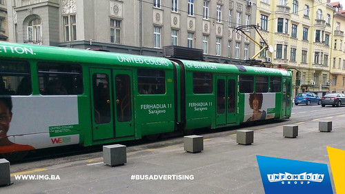 Info Media Group - Benetton, BUS Outdoor Advertising, Sarajevo 03-2016 (7)