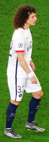 David Luiz of Paris Saint-Germain
