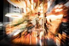 Like a dream... (ParadoX_Design) Tags: light horses horse abstract motion blur color kids children fun nikon child play go dream fair pole round fade nightmare merry reve dreamscape carrousel d80